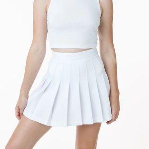 Nanette Lepore White Tennis Skirt